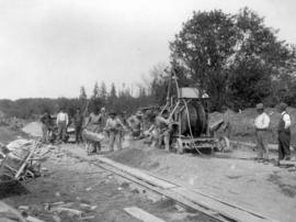 [Laying trunk sewer from Kerrisdale to the Fraser River]