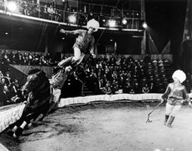 The Moscow Circus : the Khodzhabaev Group daring Cossack riders