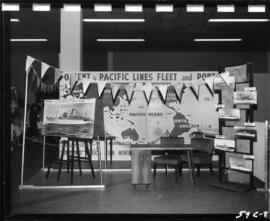 Orient and Pacific Lines display in Pacific Showmart building