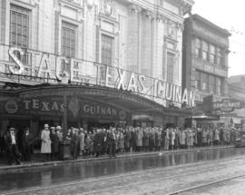 Crowd at Beacon Theatre [20 West Hastings Street to see] Texas Guinan