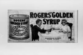 Advertisement for Rogers' Golden Syrup (billboard photo)