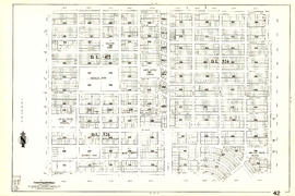 [Sheet 42 : Oak Street to Ontario Street and Twenty-eighth Avenue to Sixteenth Avenue]