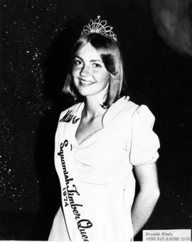 Brenda Hinds, Miss Squamish 1974 : [portrait]