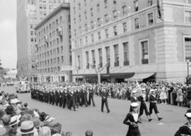 Canadian Pacific Exhibition  parade [Naval Cadets, Georgia Street]