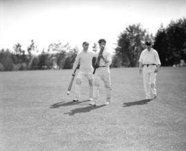 Opening of cricket season, Brockton Point