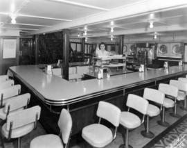 "[Lunch room in the Union S.S. ""Lady Cynthia""]"