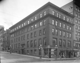[St. Francis Hotel, corner of Cordova and Seymour Streets]