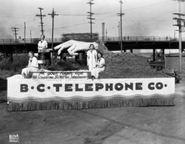 B.C. Telephone Co. parade float