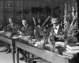 [Unidentified botany students]