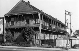 [Exterior of apertments - 782 Homer Street]