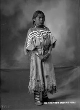 Blackfeet Indian Girl