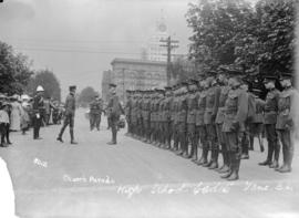 Church parade - High School cadets