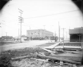 [View of 41st Avenue, looking west from East Boulevard]