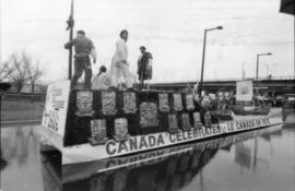 Tourism Canada Celebrates float