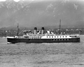 "[S.S. ""Lady Alexandra"" outward bound from Vancouver]"