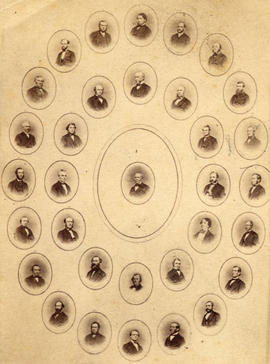 [The delegates who made up the scheme of the Confederation of Canada]
