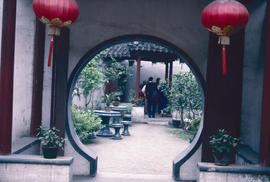Gardens - China, Japan : modern garden, Suzhou, China