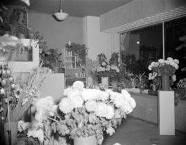 [Interior view of Muriel Skae Florist]