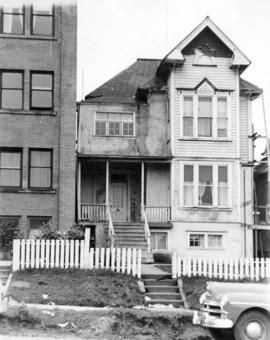 [Exterior of residence - 144 East 6th Avenue]