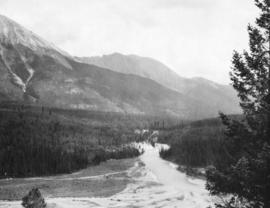[View of Vermillion River in Kootenay National Park]
