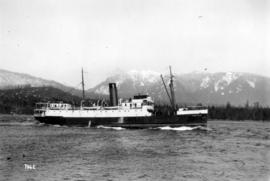 "[S.S. ""Venture"" entering Vancouver Harbour]"