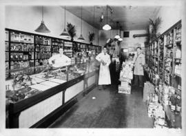 Interior of O.K. Stores Ltd., 686 Kingsway