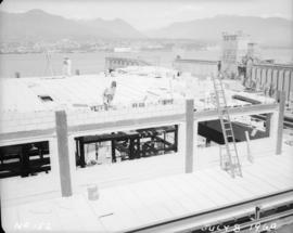 Construction of pan house: roof construction
