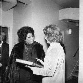 Leontyne Price and Grace McCarthy