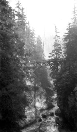 Bridge [over] Capilano canyon