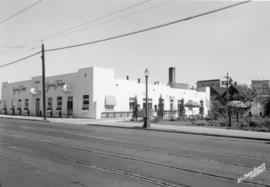 Plant at 2256 West Broadway, note street car tracks