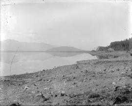 [Sumas Lake before reclamation of area]