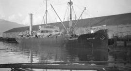 S.S. Baychimo [at dock]