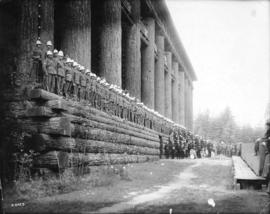 [6th Regiment, The Duke of Connaught's Own Rifles and band at the Alaska-Yukon-Pacific Exposition]