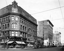 [View of the south side of the 700 and 800 Blocks of Hastings Street]