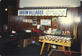 Arrow Billiards display booth