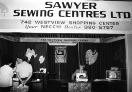 Sawyer Sewing Centres display