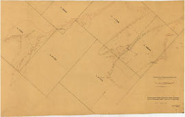 Vancouver hydro-electric power schemes. Portion of topographical map - Alpha Lake to Green Lake