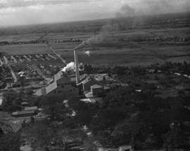 Aerial view of Ozama factory site