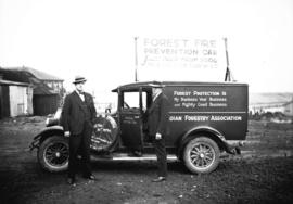 Canadian Forestry Association, Forest Fire Prevention lecture car