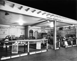 Canadian SKF Co. display of automobile products