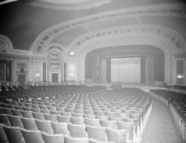 [Interior view of the Capitol Theatre]
