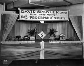 David Spencer exhibit with model food market