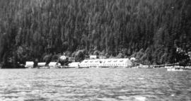 [View of J.H. Todd's Provincial Cannery on Rivers Inlet]