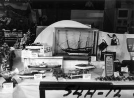 Display of handcrafted models in P.N.E. Hobby Show