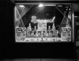 [Window display for Smith Barregar Ltd.]