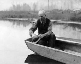 Louis D. Taylor fishing