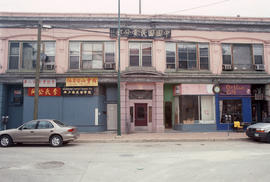 Storefronts in Winnipeg Chinatown