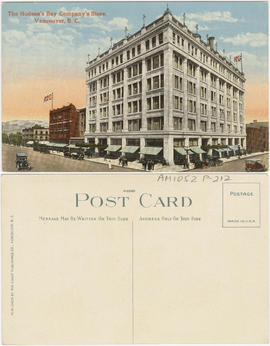 The Hudson's Bay Company's store, Vancouver, B.C.