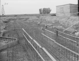 Reinforcing steel in the Bulk Storage