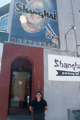Shanghai Restaurant on Somerset Street, Ottawa